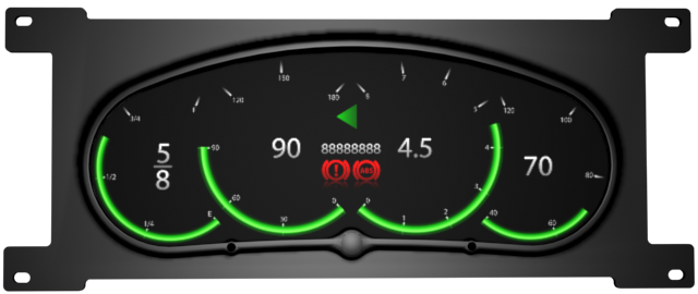 Electronic Gauge Cluster : Obd gauges bing images